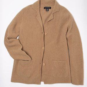 Dialogue Beige 100% Wool Jacket